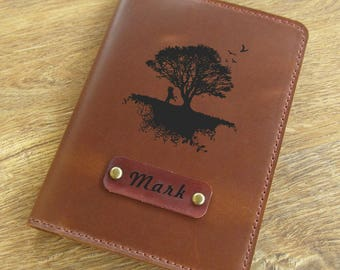 Leather passport cover, passport wallet, passport holder, passport wallet, travel wallet, personalized gift
