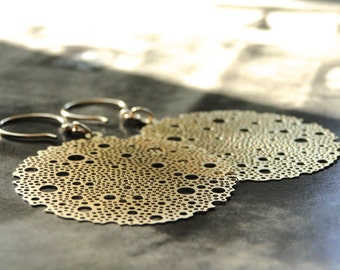 Jewelry  14k Gold Filled Dangle Earrings / Spring Earrings / Jewelry / Luxe Jewelry / Boho Chic Earrings / Accessories / Spring Fling / Luxe