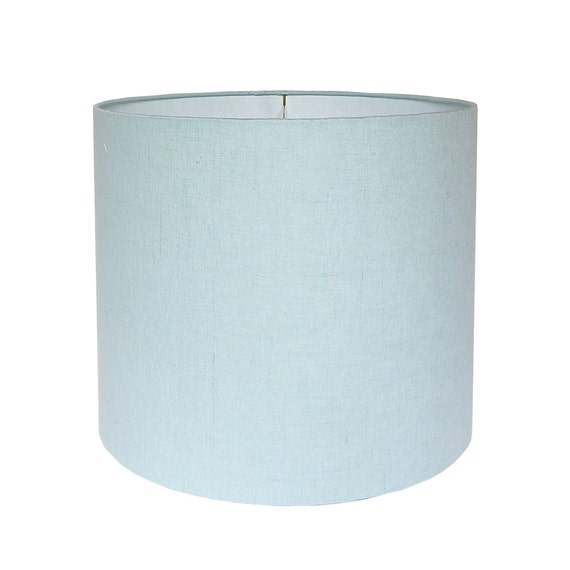Elegant Blue Lamp Shade Fabric Lampshade Linen Lamp Shades