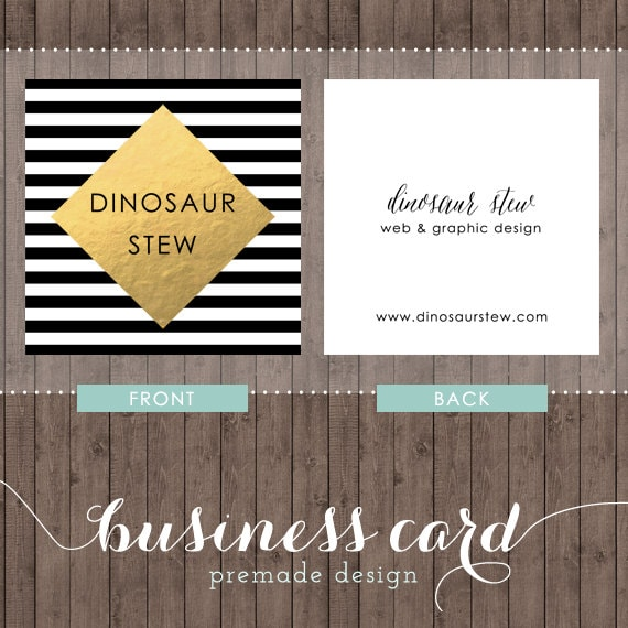 Square business card design gold foil we design you print zoom reheart Images