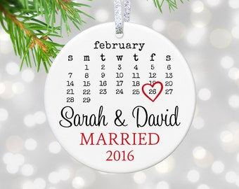 Wedding Ornament Wedding Gift For Couples Gift Newlywed Gift First Christmas Ornament Wedding Shower Gift Just Married Gift Bridal Gift