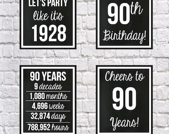 60th birthday black and white 1958 signs 60th birthday