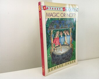 Magic or Not? by Edward Eager (illustrated by N.M. Bodecker)