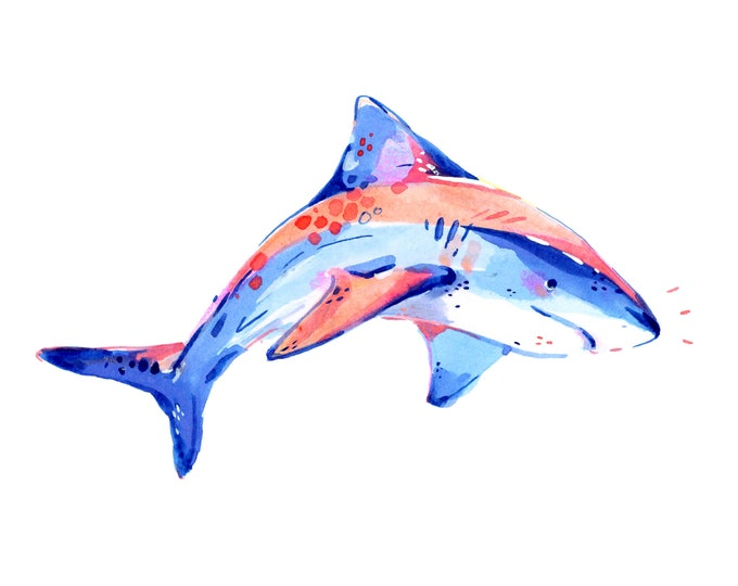 Shark 1 -- Art Print