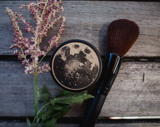 Mineral Foundation Powder • Earth Mineral Cosmetics • Natural Makeup • Vegan • Loose Powder •  Connect To The Earth + Respect The Planet