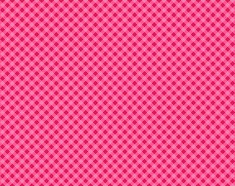 Anna's Garden Gingham by Patrick Lose Fabrics - Peony 63796-C300715 Quilt Fabric
