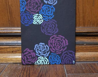 Small Stylized Painting (Canvas Panel)