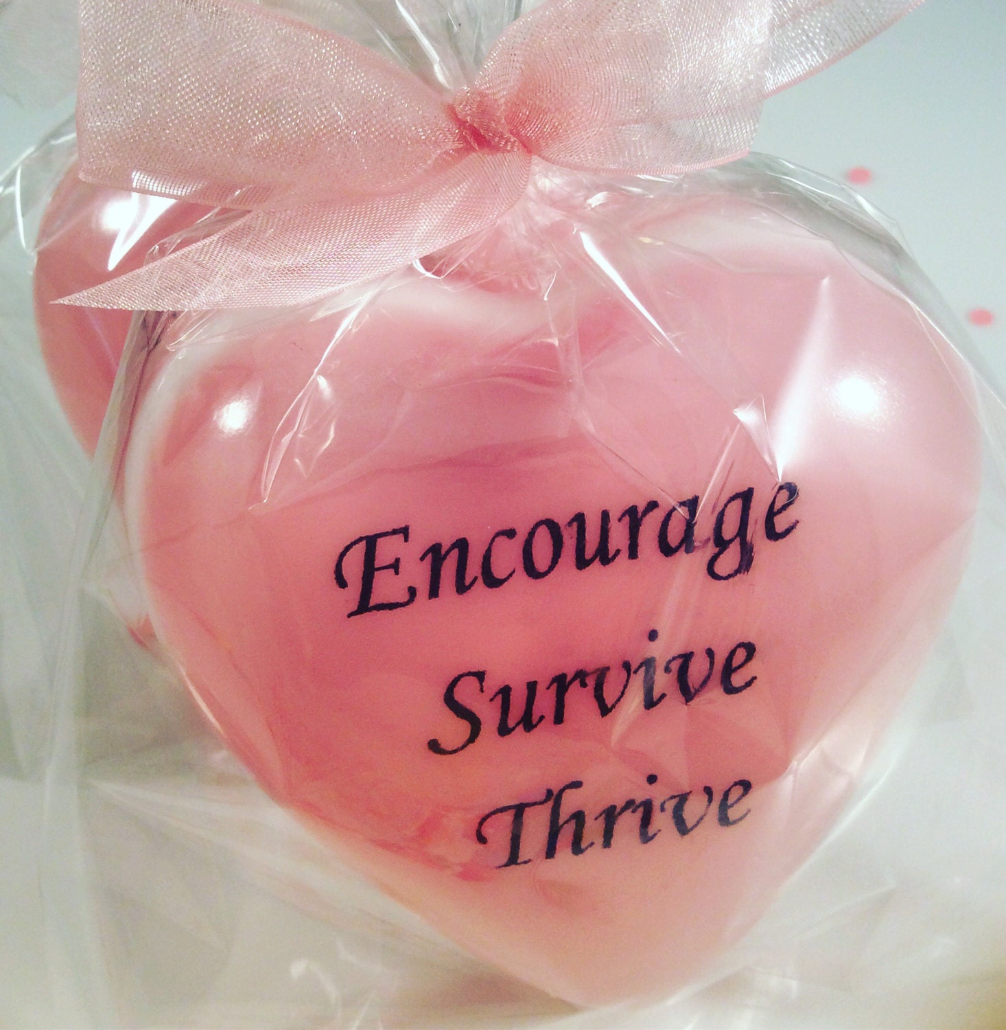 Breast Cancer Awareness Soap. Message Soap Favors Message