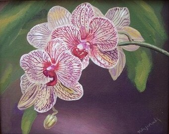 Orchid Fine Art Note Card -