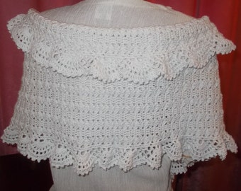 White bridal shawl, wedding shawl, bridal wrap, wedding wrap, crochet shawl, Bridesmaid Gift, cotton shawl, cotton wrap
