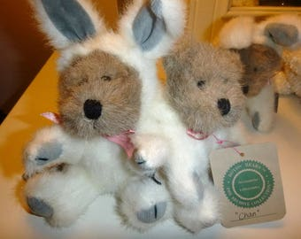 Mini Teddy Bears in Bunny Suits- BOYD Collectible