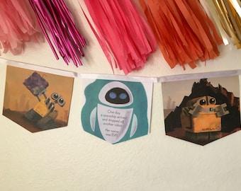 Wall -E Book Banner