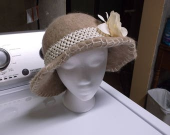 Homemade Alpaca hat