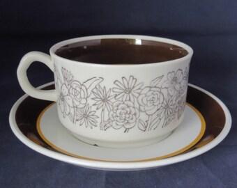 Gefle, Maud, Tea cup and saucer.