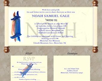 25 Bar Mitzvah Invitation Set -018