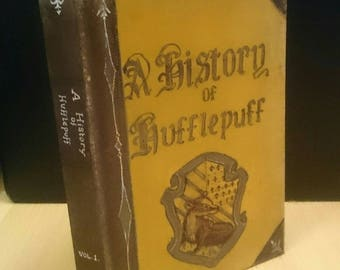 A History of Hufflepuff - blank book