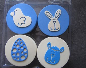 Set of 4 Palm pads foam for children - hobby