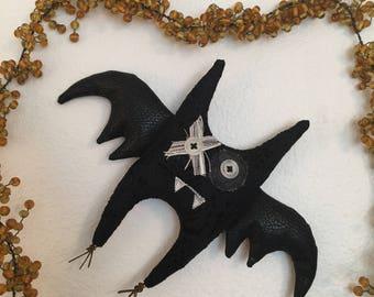 Hugs & Kisses Halloween Bat