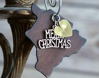 HAWAII Christmas Ornament, HAWAII Ornament, Christmas Gifts 2018 Christmas Ornaments, Personalized Gift, HAWAII Ornaments, Stocking Stuffer