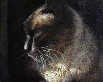Custom Hand Painted Animal Portraits