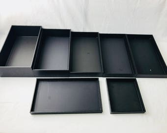 Standard Utility Trays Textured Leatherette