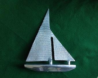 Chrome Modern Sailboat