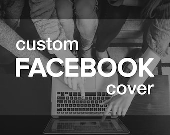 Custom FACEBOOK Timeline Cover | Personalized Graphic Design for Facebook Business or Personal Page | Branding Header Banner
