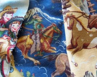 fabric flannel scraps pack seven