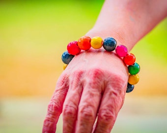 Beads and More Beads Bracelet