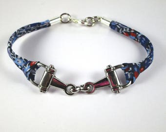 Bracelet riding bit NET liberty wilmslow berry B - Blue Navy