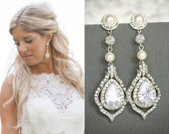 Vintage Romantic Inspired Bridal Jewelry by GlamorousBijoux