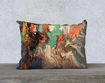 Cold in Hell Art Pillow