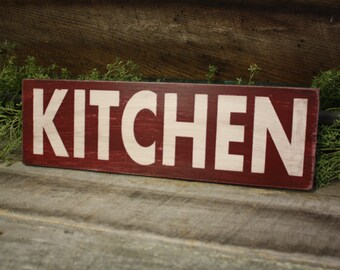 Kitchen Sign, Fixer Upper Style, Wooden Kitchen Sign, Farmhouse Decor, Rustic Kitchen Sign, Farmhouse Sign