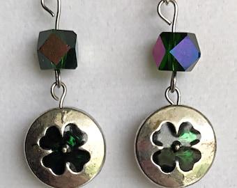 St. Patrick's Day Shamrock Earrings