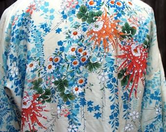 Vintage Silk Obi jacket - Made in Japan