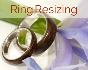 Bentwood Ring Resize Service - Ring Size Alterations