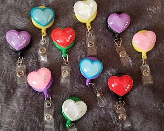 Heart Badge Reel Badges