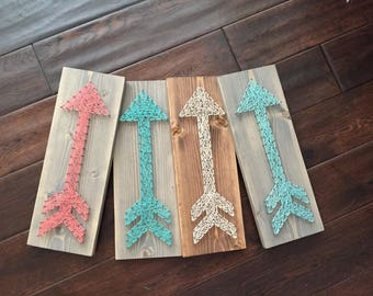 MADE TO ORDER String Art Arrow