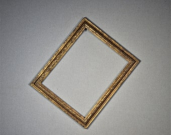 11x14 Frame Ornate Gold Wood with Optional Glass and Matting Complete Kit
