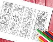 Love colouring book marks...