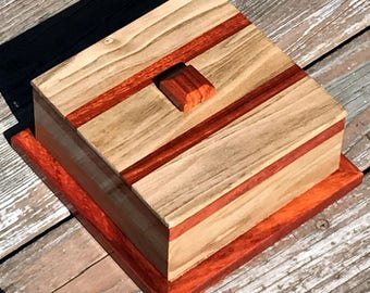 Padauk and Butternut decorative box