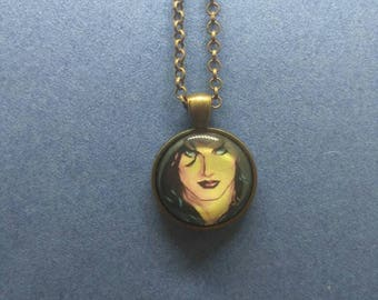 Wonder Woman,Wonder Jewelry,Wonder Woman Necklace, Superhero Jewelry