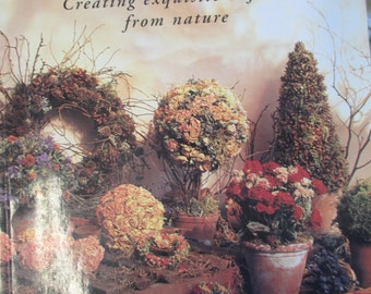 The  Creative Captured Harvest Creating from Nature 160 page Book Diy used.