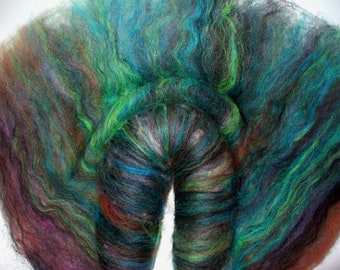 All Wool Batt for Hand Spinning Yarn