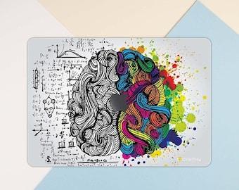 Brain macbook skin left right brain macbook decal macbook sticker Art macbook cover creativity macbook pro skin macbook air 13 MS 351