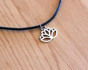 Lotus Flower Choker