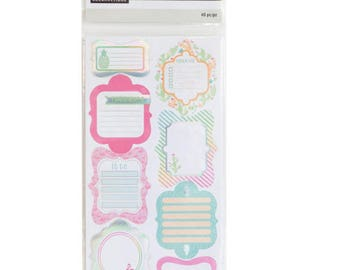 Warm & Cool Label Journal Stickers By Recollections™