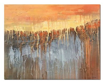 Large Painting, Canvas Painting, Original Painting, Abstract Landscape Painting, Canvas Wall Art, Abstract Art, Large Art, Canvas Wall Art