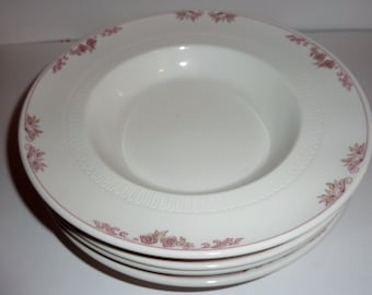 Vintage Syracuse china montlynn soup bowls set of 4