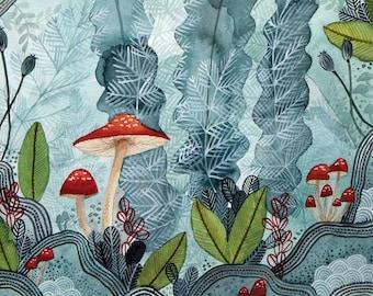 Undergrowth Art Print 8x10